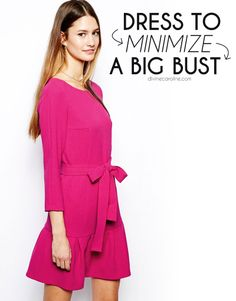 Dressing To Minimize A Big Bust