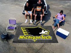 "Ulti-Mat (60""x96"") Rug - Michigan Tech"