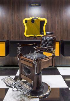 Barbearia A Banca | Projeto e Execução Alex Freitas