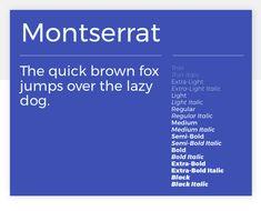 Montserrat - 15 best Google Fonts for your website - Justinmind Vintage Fonts, Vintage Typography, Graphics Vintage, Vector Graphics, Free Cursive Fonts, Font Free, Best Google Fonts, Montserrat Font, Bold Bold