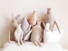 sweet handmade stuffed animals
