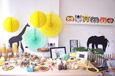 Fiesta decorada con los productos de My Little Party.