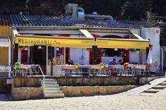 Restaurant Toc al Mar - Cala d'Aiguablava - Begur, Costa Brava, Catalonia.
