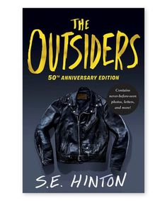 Another great find on #zulily! The Outsiders Anniversary Edition Hardcover #zulilyfinds