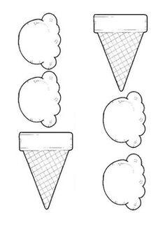 ice cream cutouts (fine motor) by Sarah West