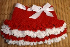 Crochet Skirt (Valentine's Day)