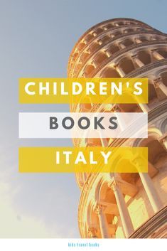 children's books about Italy that will help you plan your next family trip Book Clubs, Book Club Books, Children's Books, Travel With Kids, Family Travel, Italy For Kids, Italy Pictures, Travel Books, World Of Books