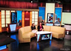 """WTMJ-TV, """"Today's TMJ4,"""" took the wraps off its new set over the weekend. The new ... Read More"""