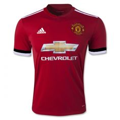 17-18 Manchester United Home Jersey