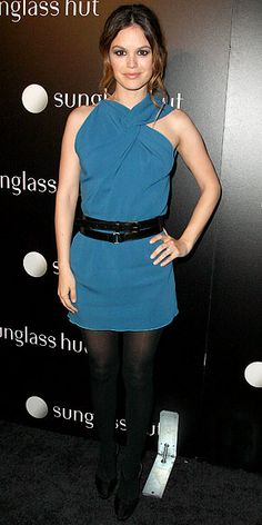 in an RM by Roland Mouret dress in 2010