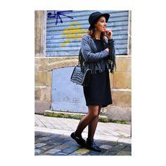 #fringedjacket nouvel article sur le blog #franges #hm #mode #fashionblogger #fashion #spring #summer