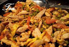 Gli straccetti di pollo con salsa di soia cotti nella wok sono un piatto che…