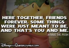 New quotes friendship winnie the pooh disney Ideas Disney Quotes Tumblr, Disney Love Quotes, Winnie The Pooh Quotes, Winnie The Pooh Friends, Disney Sayings, Best Friend Quotes, New Quotes, Movie Quotes, Life Quotes