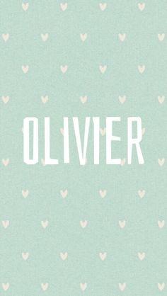 Mijn grootste geluk zoon Olivier: Franse jongensnaam. olijfboom