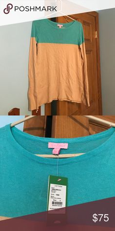 Lilly Pulitzer sweater NWT Lilly sweater, feel free to make a reasonable offer!! Lilly Pulitzer Sweaters Crew & Scoop Necks