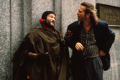 The Fisher King - Publicity still of Robin Williams & Jeff Bridges Robin Williams, Good Comedy Movies, The Fisher King, Terry Gilliam, Val Kilmer, Jeff Bridges, Invisible Man, See Movie, The Big Lebowski