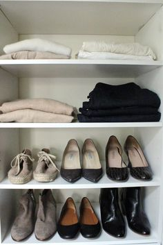 Closet Cleanout:  The Only 10 Pieces of Clothing You Need --  by Michelle Slatalla