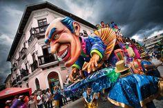 CARNAVAL DE NEGROS Y BLANCOS DE PASTO, NARIÑO, COLOMBIA ||| Carnaval de Negros y Blancos de Pasto