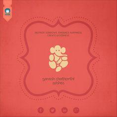 Creative Design for Ganesh Chathurthi 2014.
