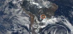 Cazatormentas   Resuelto el misterio de los destellos brillantes en las imágenes satelitales