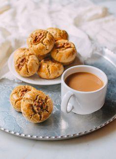 Chinese Walnut Cookies Recipe, by thewoksoflife.com
