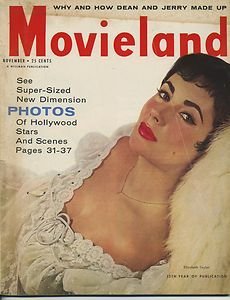 VTG MOVIELAND MAGAZINE 1957 YOUNG ELIZABETH TAYLOR JAMES DEAN CELEBRITY NEWS   eBay ♣♣Elizabeth Taylor♣♣OCCUPATION: Film Actress BIRTH DATE: February 27, 1932 DEATH DATE: March 23, 2011 PLACE OF BIRTH: London, England PLACE OF DEATH: Los Angeles, California less about Elizabeth BEST KNOWN FOR  Actress Elizabeth Taylor starred in films like Cat on a Hot Tin Roof and Butterfield 8, but was just as famous for her violet eyes and scandalous love life.