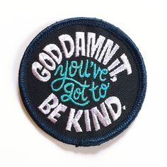 Image of Be Kind Patch by Chris Piascik