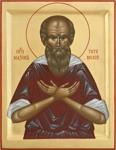 Righteous Maxim of Totma - Fool for Christ / Typical Russian, Russian Orthodox, Byzantine Art, Orthodox Christianity, Religious Icons, Orthodox Icons, Priest, The Fool, Saints