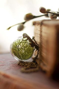 real moss necklace | wonderful line of handmade jewelry for the modern day romantic