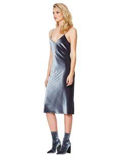 VELVET SHADOWS DRESS - Dress