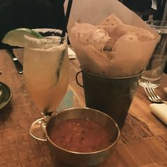Getting this celebration off to a great start!  That's that good good! TPB Single Barrel Margarita and Chips  Salsa! Yes sir! #itsacelebration #tequila #celebration