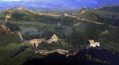 This section of the Great Wall is not in Beijing but nearby Hebei Province