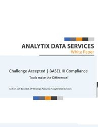 [Compliance Whitepaper]  Challenge Accepted | BASEL III Compliance-Tools Make the Difference!