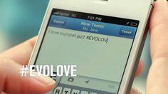 Tweet #evolove NYC Adv  