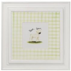 Farm Theme Framed Wall Art:  from www.wellappointedhouse.com