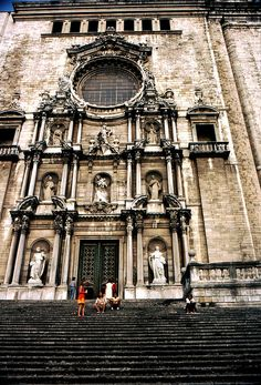 Santa Maria de Montserrat in Catalonia, Spain.  Go to www.YourTravelVideos.com or just click on photo for home videos and much more on sites like this.
