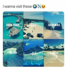 Bucket list, bahamas, and bali: i wanna visit theseko bora bora bali bahamas Amazing Places On Earth, Beautiful Places To Travel, Cool Places To Visit, I Want To Travel, Vacation Places, Dream Vacations, Dream Vacation Spots, All Nature, To Infinity And Beyond