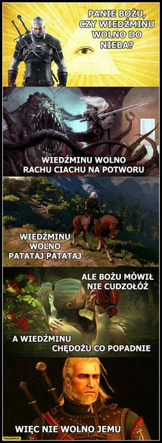 Polish Memes, Very Funny Memes, Past Tens, The Witcher, Httyd, Geek Culture, Man Humor, Best Memes, Haha