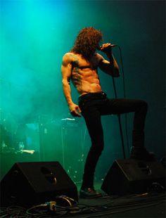 "campvsano:  "" Bobby Ellsworth / Overkill @ Metalmania 2008  [original pic]  """