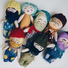 Already in the store @mukla_doll_shop #mukladolls #dollmaker #ooakdoll #handmadetoys #handmadedoll