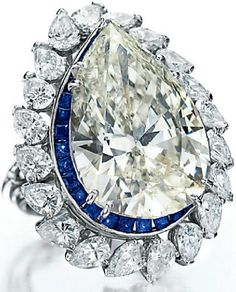 Sotuar with sapphires and diamonds from BVLGARI - a gift of Richard Burton, made in 1972