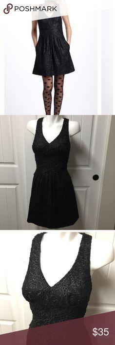 Little black dress! Gorgeous little black dress!  Great condition.  Size 4. Anthropologie Dresses