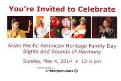Join us at MAG on May 4 for Asian Pacific American Heritage Family Day: Sights and Sounds of Harmony.