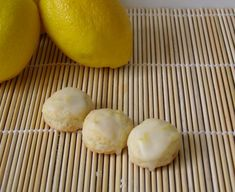 lemon scone bites
