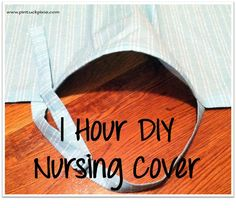 Prudent Baby DIY Nursing Cover Up Tutorial - SUPER EASY - better than store bought.