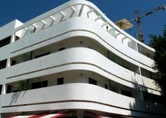 Not sure why so popular in TA but cool nonetheless//Bauhaus Architecture/Tel Aviv
