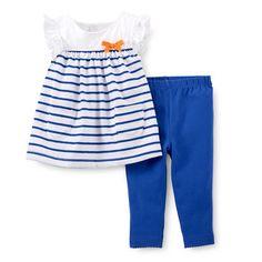 50e86d5b589 Summertime Sweetie 2-Piece Tunic   Legging Set Layette