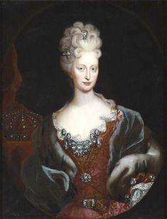 ca. 1678 Maria Anna Josepha (1654 - 1689), Erzherzogin von Österreich, Pfalzgräfin bei Rhein zu Neuburg, Herzogin von Jülich-Berg