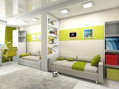 Картинки по запросу детские комнаты для двоих
