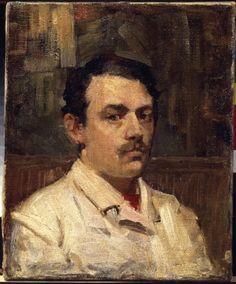 Self-portrait, John Peter Russell, 1886-87. Collection: Van Gogh Museum.